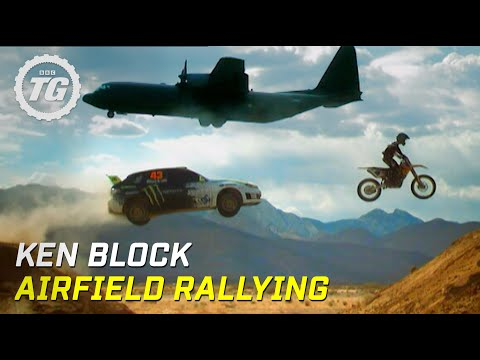Top Gear: Ken Block airfield rallying