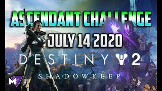 Ascendant Challenge July 14 2020  Solo Guide | Destiny 2 | Corrupted Eggs End of Season of Arrivals