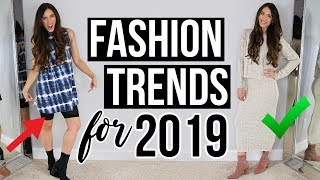 Styling & Testing FASHION TRENDS for 2019!