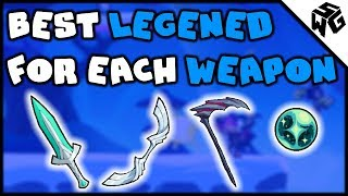 BEST LEGEND FOR EACH WEAPON - Brawlhalla