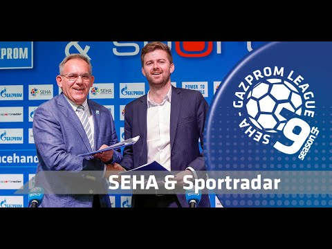 Contract signing I SEHA & Sportradar