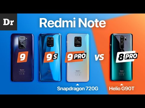 MediaTek G90T vs Snapdragon 720G: Redmi Note 9 Pro vs Note 8 Pro