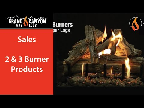 Grand Canyon Gas Logs - 2/3 BRN
