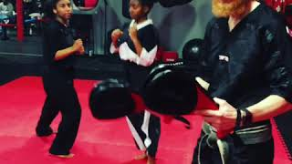 Technique of the Week: Hook, Round, Switch Kick Combo
