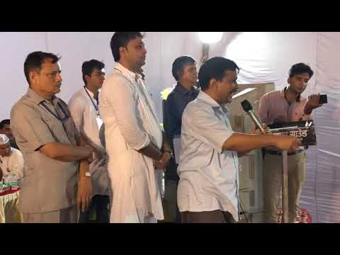 Delhi CM Arvind Kejriwal inaugurates the work of replacement of existing old water line in Kirari.