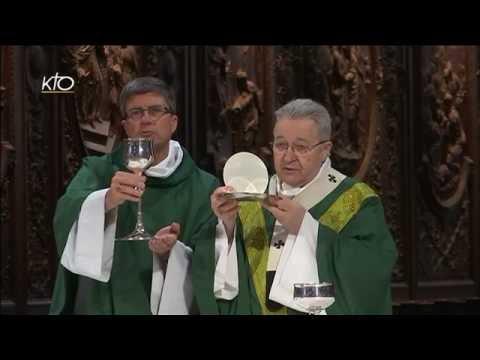 Messe avec les Vierges Consacrées de France