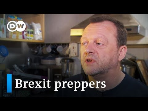 Brexit preppers: Stocking up for doomsday | DW Stories