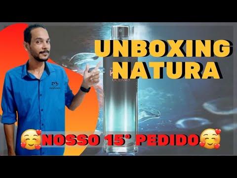 unboxing natura - abertura de caixa natura   ABERTURA DE CAIXA NATURA NOSSO 15 PEDIDO.