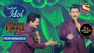 Udit Ji और Aditya ने मचाया Stage पे धमाल | Indian Idol Season 12 |Greatest Finale Ever