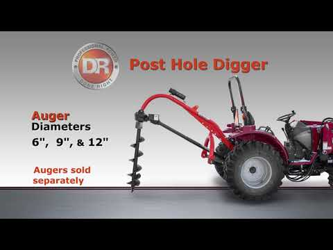 2021 DR Power Equipment DR Post Hole Digger in Walsh, Colorado - Video 1