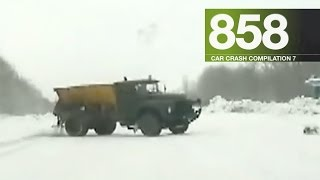 Car Crash Compilation 858 - January 2017