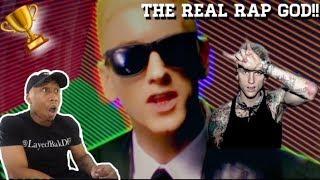 Eminem (Rap God) Better than (Rap Devil) [REACTION!!!]