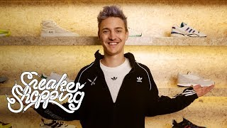 Ninja goes Sneaker Shopping with Complex's Joe La Puma at Notre in Chicago and talks his Adidas deal, playing soccer growing up, and how sneakers have become part of gaming culture.   Subscribe to Complex on YouTube: https://www.youtube.com/channel/UCE_--R1P5-kfBzHTca0dsnw?sub_confirmation=1  Check out more of Complex here: http://www.complex.com https://twitter.com/Complex https://www.facebook.com/complex http://instagram.com/complex https://plus.google.com/+complex/  COMPLEX is a community of creators and curators, armed with the Internet, committed to surfacing and sharing the voices and conversations that define our new America. Our videos exemplify convergence culture, exploring topics that include music, sneakers, style, sports and pop culture through original shows and Complex News segments. Featuring your favorite celebrities, authoritative commentary, and a unique voice, our videos make culture pop.
