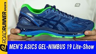 1883baab2928 Asics GEL Nimbus 19 Lite Show Men s Running Shoes video