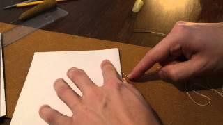 Смотреть онлайн Как сделать блокнот своими руками