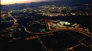 preview picture of video 'taking off from tel aviv airport at night'