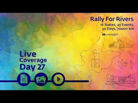 Event Rally for Rivers at Chandigarh