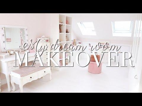 ROOM MAKEOVER ~ MY DREAM ROOM & DRESSING ROOM!