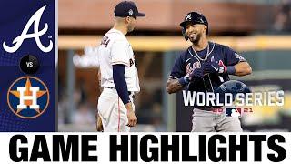 Braves vs. Astros World Series Game 1 Highlights (10/26/21) | MLB Highlights