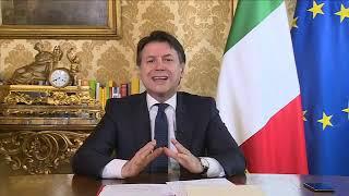 """coronavirus, Giuseppe Conte: Intervista alla tv tedesca """"Ard"""""""