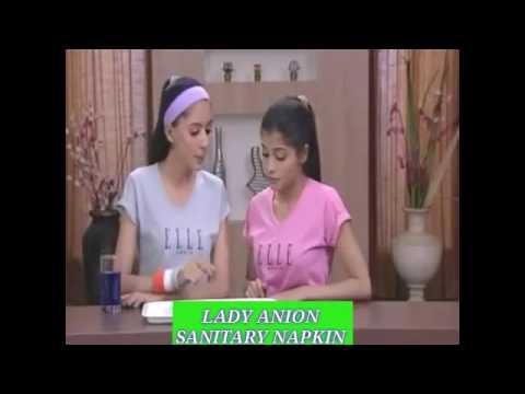 Lady Anion Sanitary Napkins