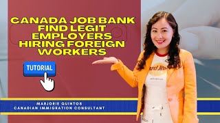CANADA JOB BANK | How to FIND LEGIT EMPLOYERS [Tutorial]