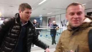 Встречаем Самвела !  Аэропорт Борисполь