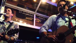 Crazy For This Girl - Evan and Jaron  LIVE @ Whiskey Jam (09/09/2013)