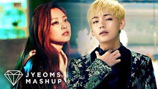BTS & BLACKPINK - BLOOD, SWEAT & TEARS X WHISTLE (MASHUP) [2018 VERSION]