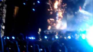AC DC CONCERT 2009 MONCTON NB 20 FEET FROM STAGE (INTRO)WTIH FIRST SONG