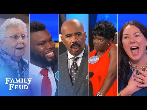 2017's TOP 10 MOMENTS! | Family Feud