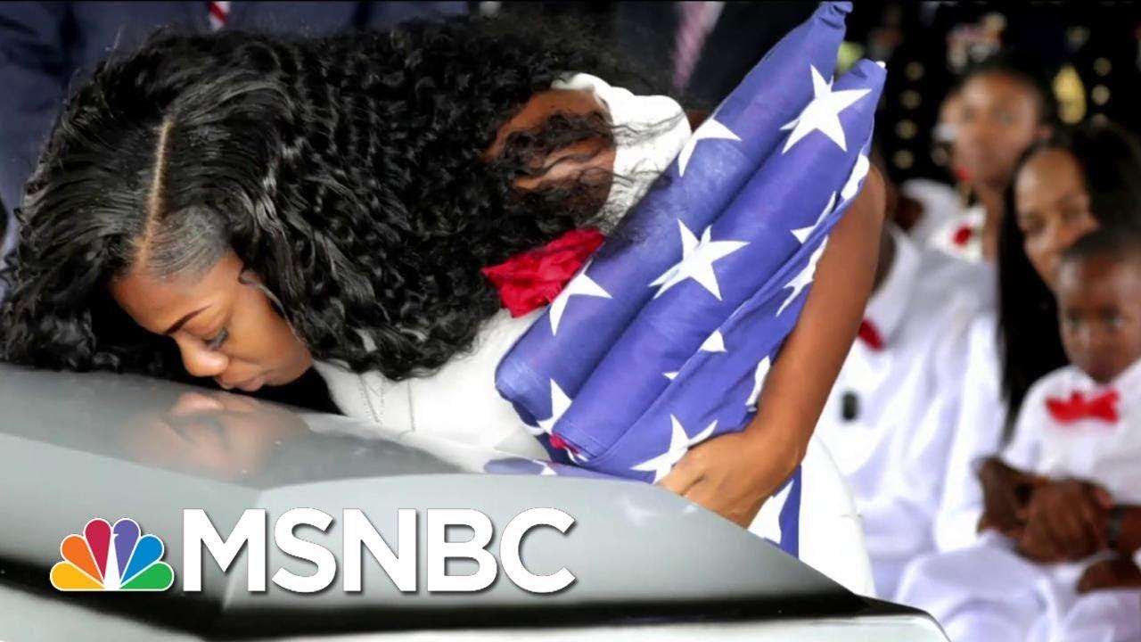 President Donald Trump Undercuts Gold Star Widow Myeshia Johnson In New Tweet   Morning Joe   MSNBC thumbnail