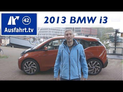2014 / 2013 BMW i3 / Erfahrungen der Probefahrt / Fahrbericht / Test