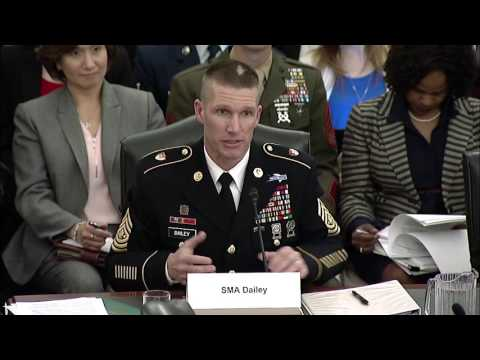 Reed Discusses Financial Issues at SASC Subcommittee Hearing on Military Family Readiness Programs