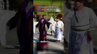 Performing a Cinderella musical in the middle of a L.A. crosswalk!
