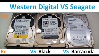 Western Digital Black VS WD Re Enterprise VS Seagate 2TB HDDs