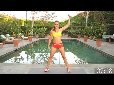 15 Min Full Body Workout with Dumbbells to Build Muscle -  Weight Workout for Women - Lose Weight