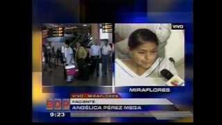 Panamericana Televisión 30/05/2010 - Trasplante Cardiaco en el INCA