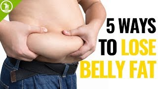 How To Lose Belly Fat For Men – The Ultimate 5 Step Guide