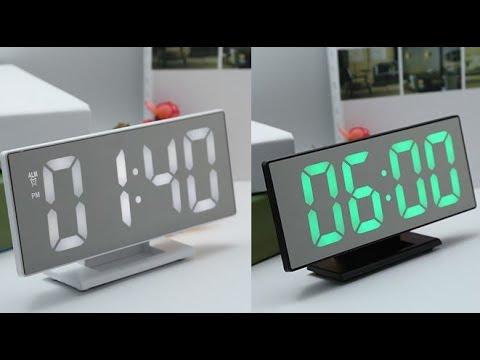 Светодиодные настольные часы