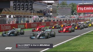 2018 Spanish Grand Prix: Race Highlights