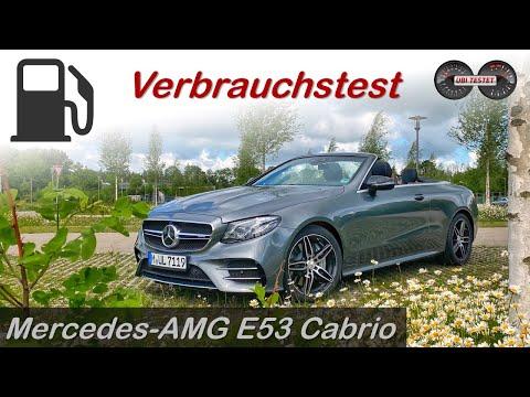2020 Mercedes AMG E53 Cabrio - Verbrauchsfahrt im Mercedes E-Klasse Cabrio   Test - Review