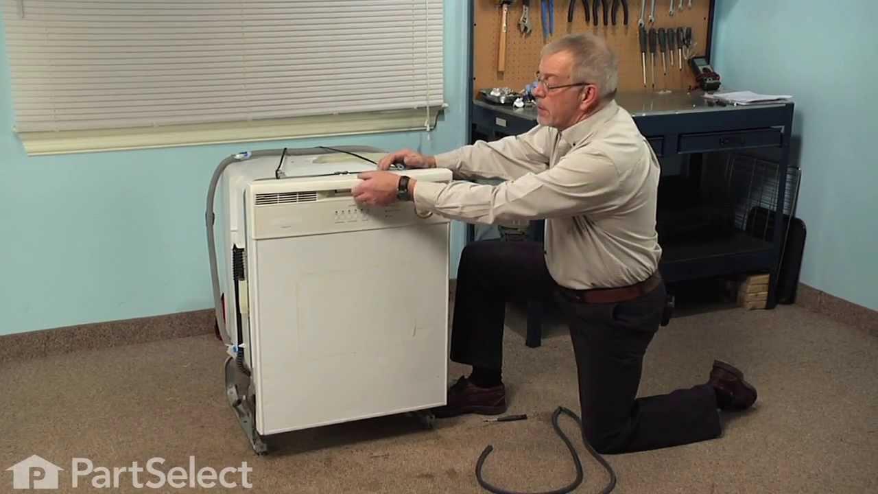 Replacing your Frigidaire Dishwasher Dishwasher Tub Gasket - Gray