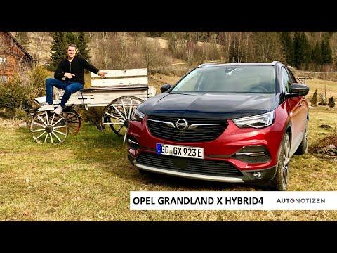 Opel Grandland X Hybrid4 2020: SUV mit 300 PS im Review, Test, Fahrbericht
