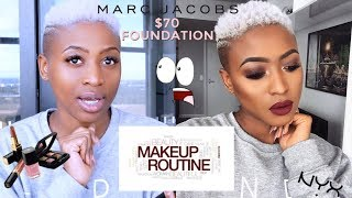 FULL FACE BEAT | MARC JACOBS SHAMELESS $70 FOUNDATION 32ML | WHAT THE ACTUAL !!!