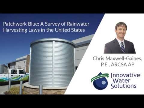 U.S. Rainwater Harvesting Laws: what is and isn't allowed in your state | Innovative Water Solutions