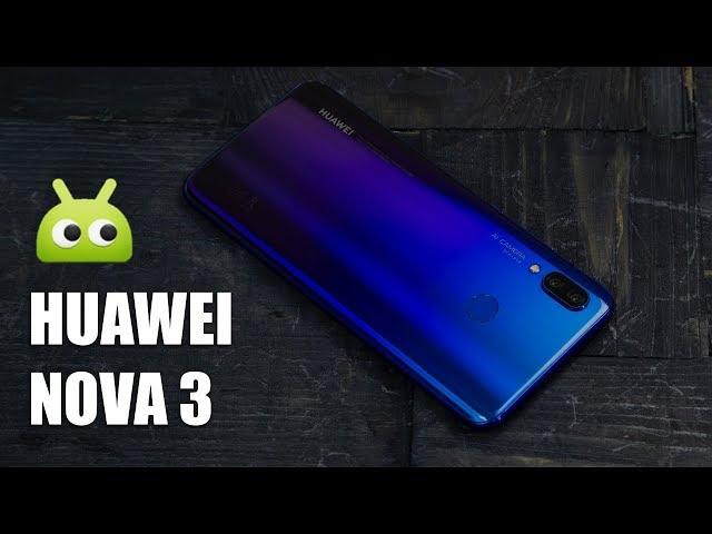 Видео Huawei nova 3 Черный