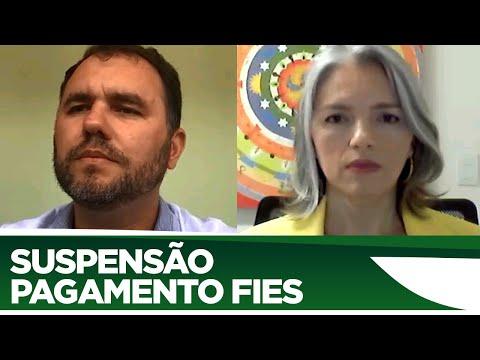 Moses Rodrigues fala da suspensão de pagamentos do FIES - 22/06/20