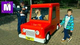 ВЛОГ завтрак в отеле и в Парк развлечений кататься на машинке Почтальона Сэма и горки Октанавты