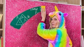 10 DIY Unicorn School Supplies vs Mermaid School Supplies